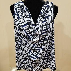 EUC Calvin Klein Sleeveless Blouse  - size 1X